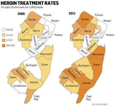Drug Free NJ Blog US Attorney General Calls Heroin Abuse A - Us attorney map